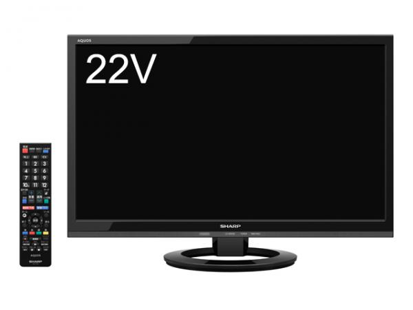 AQUOS LC-22K30-B [22インチ ブラック系]